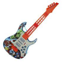 Guitarra Eletrica Infantil Vingadores Toyng -