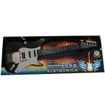 Guitarra Eletrônica  Infantil  Preta Dtc 5105 -