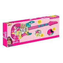Guitarra Infantil Barbie com Funçao MP3 FUN 8006-9 -