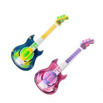 Guitarra Infantil Com Microfone Oculos Com Luz E Som - Zoop Toys