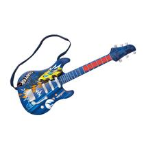 Guitarra Infantil Fun Hot Wheels Azul