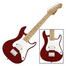 Guitarra Infantil Strato JR Vermelha Metalica PHX IST-H MRD -