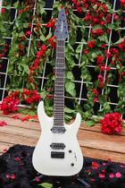 Guitarra jackson dinky arch top js32-7 291-0112-576- snow white -