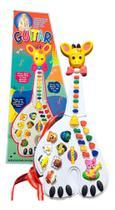 Guitarra Musical Infantil Girafa 26 Teclas Sons E 10 Música - Guitarrinha