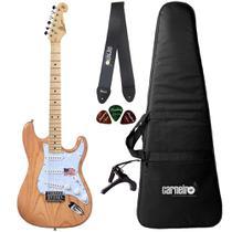 Guitarra Strato SX SSTASH NA Swamp Ash + Capa Correia Capo - Shelter