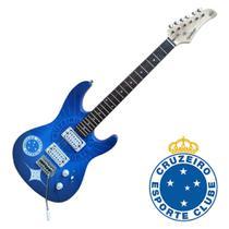 Guitarra Stratocaster Cruzeiro Waldman Gtu-1/cru Strato Com Captação Humbucker - Waldman -