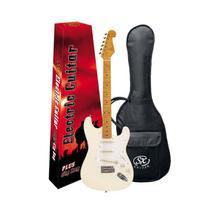 Guitarra Stratocaster SX SST 57+ Vintage WH Branco Vintage - GT0092 - Sx guitars