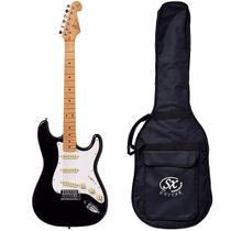 Guitarra Stratocaster SX SST57 BK Vintage Preta Com Bag -