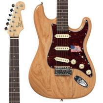 Guitarra Stratocaster SX SSTASHR NA Natural Swamp Ash -
