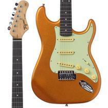 Guitarra Stratocaster Tagima TG500 Metallic Gold Dourada -