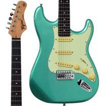 Guitarra Stratocaster Tagima TG500 Metallic Surf Green Verde -