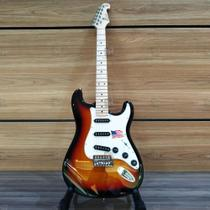 Guitarra Stratocaster Vintage SX American Alder Sunburst 3TS - SX -