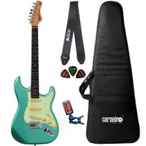 Guitarra Tagima TG500 Verde + Capa Correia Afinador -