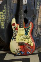 Guitarra Vintage Strato V6 Summer Of Love -