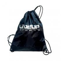 Gym Sack - Mini Bolsa Para Acessórios Esportivos (Prata) - Liveup -