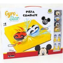 Gyro Star Pista de Combate Mickey Mouse e Friends - 7898633989785 - Dtc