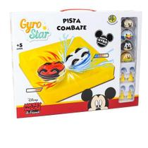 Gyro star pista de combate mickey mouse e friends - dtc -