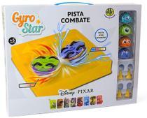 Gyro star pista de combate mickey mouse e friends - dtc -