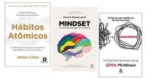 Hábitos Atômicos + Mindset + Essencialismo - Várias Editoras