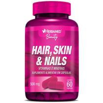 Hair, Skin e Nails - 60 Cápsulas - Herbamed -