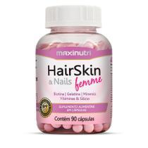 Hair, Skin & Nails Femme 90 cápsulas - MaxiNutri -