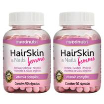 Hair Skin & Nails Femme (beleza) - 2x 90 cápsulas - Maxinutri -