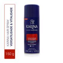 Hair Spray Karina Versatilidade  Vitalidade Fixação Normal 250ml -