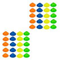 Half Cones Chapéu Chinês com 40 Unidades - LIVEUP LS3672 -