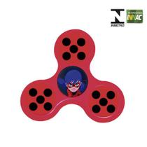 Hand Spinner Anti Stress Certificado - Miraculous - Ladybug - Novabrink