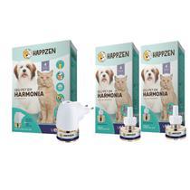 Happzen seu pet em Harmonia Difusor + 3 Refis 30ml - Vetco -