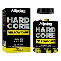 Hardcore Yellow Caps 120 Cáps - Atlhetica Nutrition -