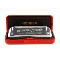 Harmômica Tremolo Hohner Golden Melody 2416/40 C (Dó) Gaita de boca M2416017 -