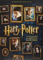 Harry Potter - Coleçao Completa - 8 Filmes - Warner