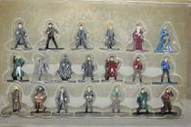 Harry Potter Kit 20 Mini Figuras - 4 Cm - Nano Metal - Dtc -