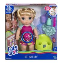 Hasbro E0609 - Baby Alive Boneca Primeiro Penico Loira -