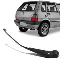Haste Braço Limpador Para-brisa Traseiro Fiat Uno 1995 a 2010 Aço Preta Ideal para Reposição - Carsil