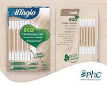 Hastes Flexíveis Eco Affagio com 75 unidades -