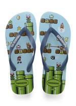 Havaianas Kids Mario Bros Azul -