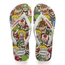 Havaianas Kids Mario Bros Branco -