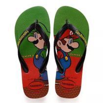 Havaianas Kids Mario Bros Morango -