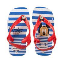 Havaianas linha baby do mickey azul e vermelha 4137007 -