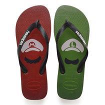 Havaianas Mario Bros Vermelha/Verde -