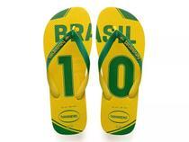 Havaianas Teams Brasil Amarela e Verde -