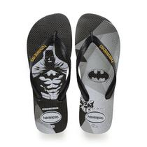 Havaianas Top Heróis DC Batman Preto -