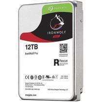 HD 12TB SATA Seagate IronWolf PRO - ST12000NE0008 (3,5pol, 6Gb/s, 7.200 RPM, 256MB Cache) -
