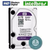 Hd 2tb Purple 2 Tb Western Digital Intelbras Wd Cftv Dvr Pc -