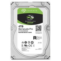 HD - 4.000GB (4TB) / 7.200RPM / SATA3 / 3,5pol - Seagate BarraCuda Pro - ST4000DM006
