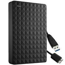 HD Externo de 1TB Seagate Expansion STEA1000400 2.5 USB 3.0 - Preto -