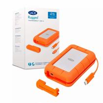 Hd Externo Lacie Rugged Thunderbolt/Usb-C 4tb 64mb 130mb/S 5.400 Rpm - STFS4000800