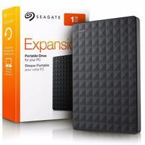 HD Externo Portátil 1TB USB 3.0 TURBO Seagate Expansion STEA1000400 Preto -
